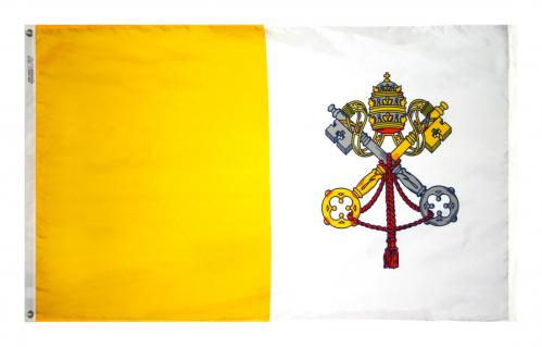 Flag Papal Vatican Nylon Outdoor 3' x 5'